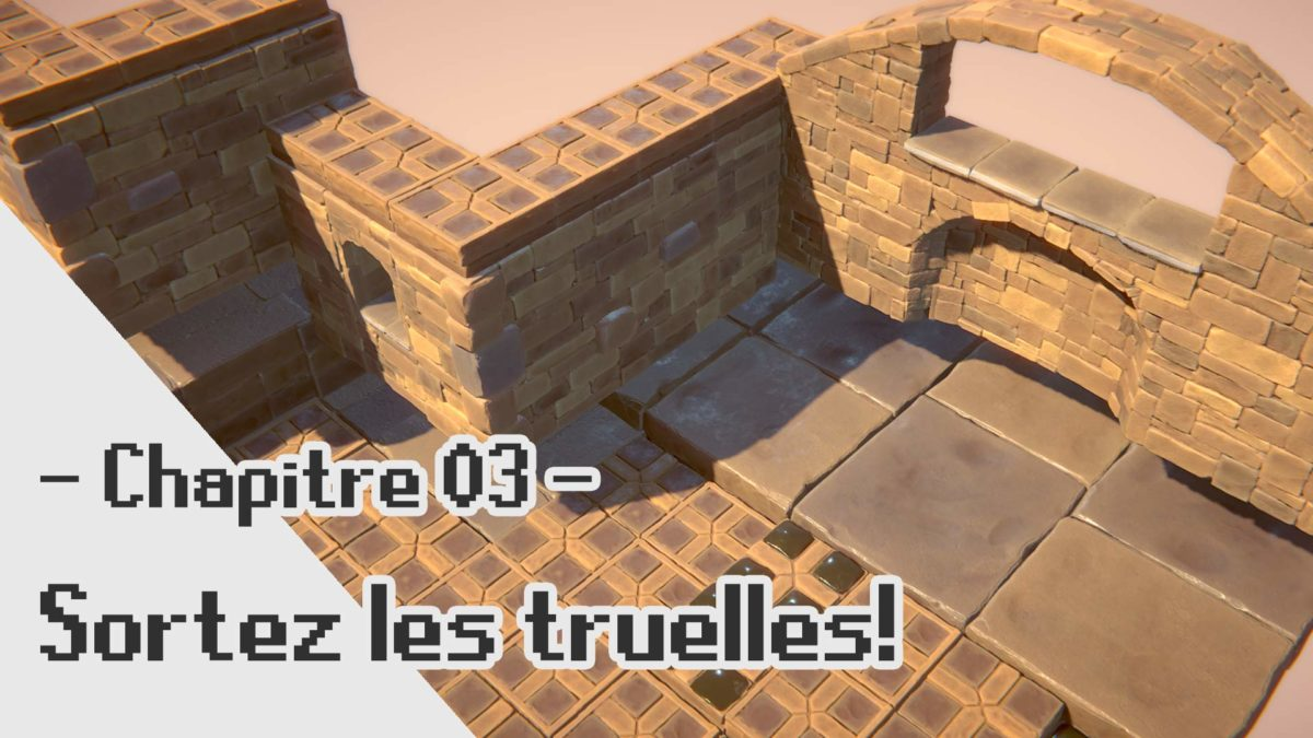 Final Fantasy Tactics Advance 2 3D Fanart: Construction des murs !