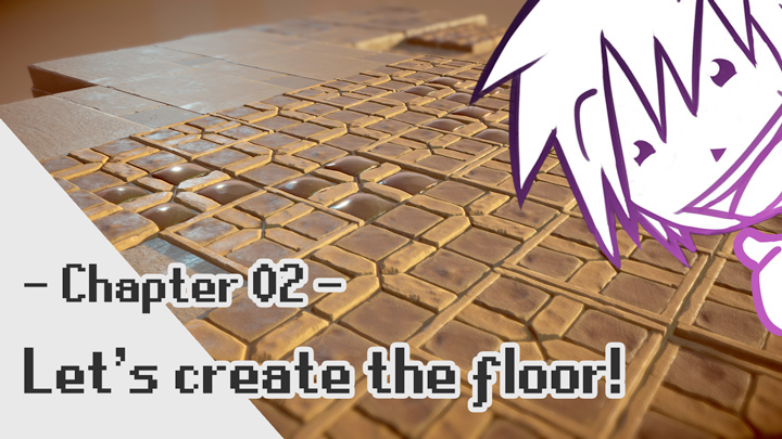 Final Fantasy Tactics Advance 2 3D Fanart: Let's create the floor!