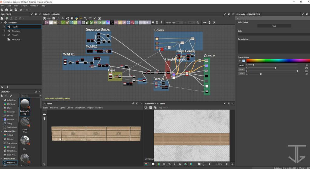 Baseboard_FinalFantasyTacticsAdvance2_3DFanart_Designer01