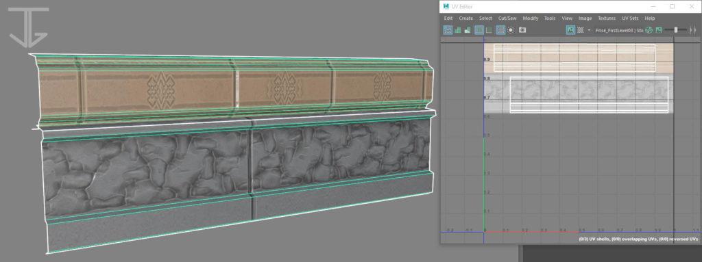 Baseboard_FinalFantasyTacticsAdvance2_3DFanart_UV