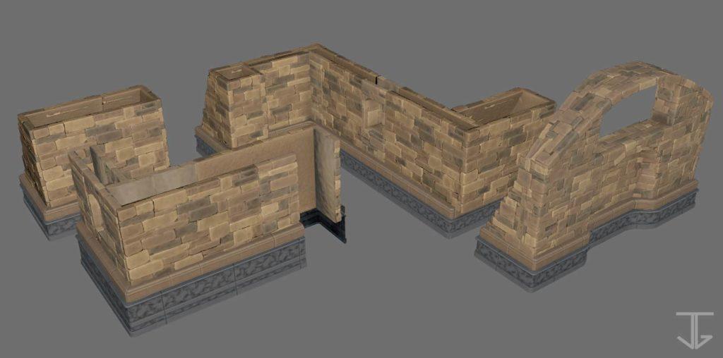 Baseboard_FinalFantasyTacticsAdvance2_3DFanart_assemblage