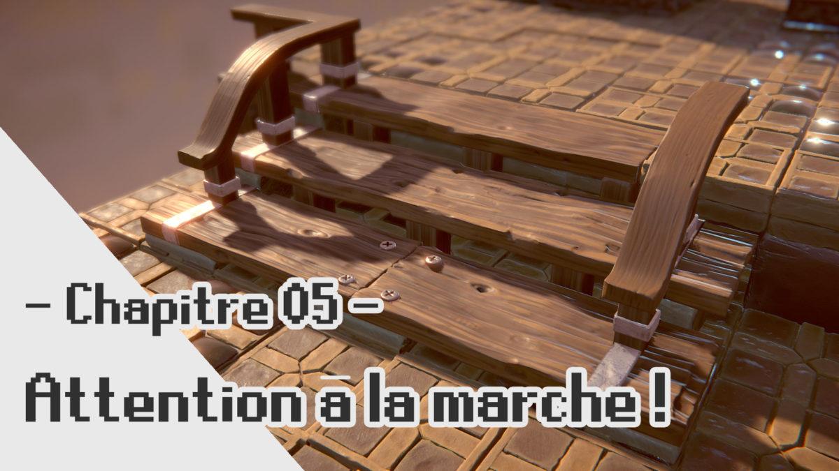 FFTA2 3D Fanart: Création de l'escalier de l'auberge!