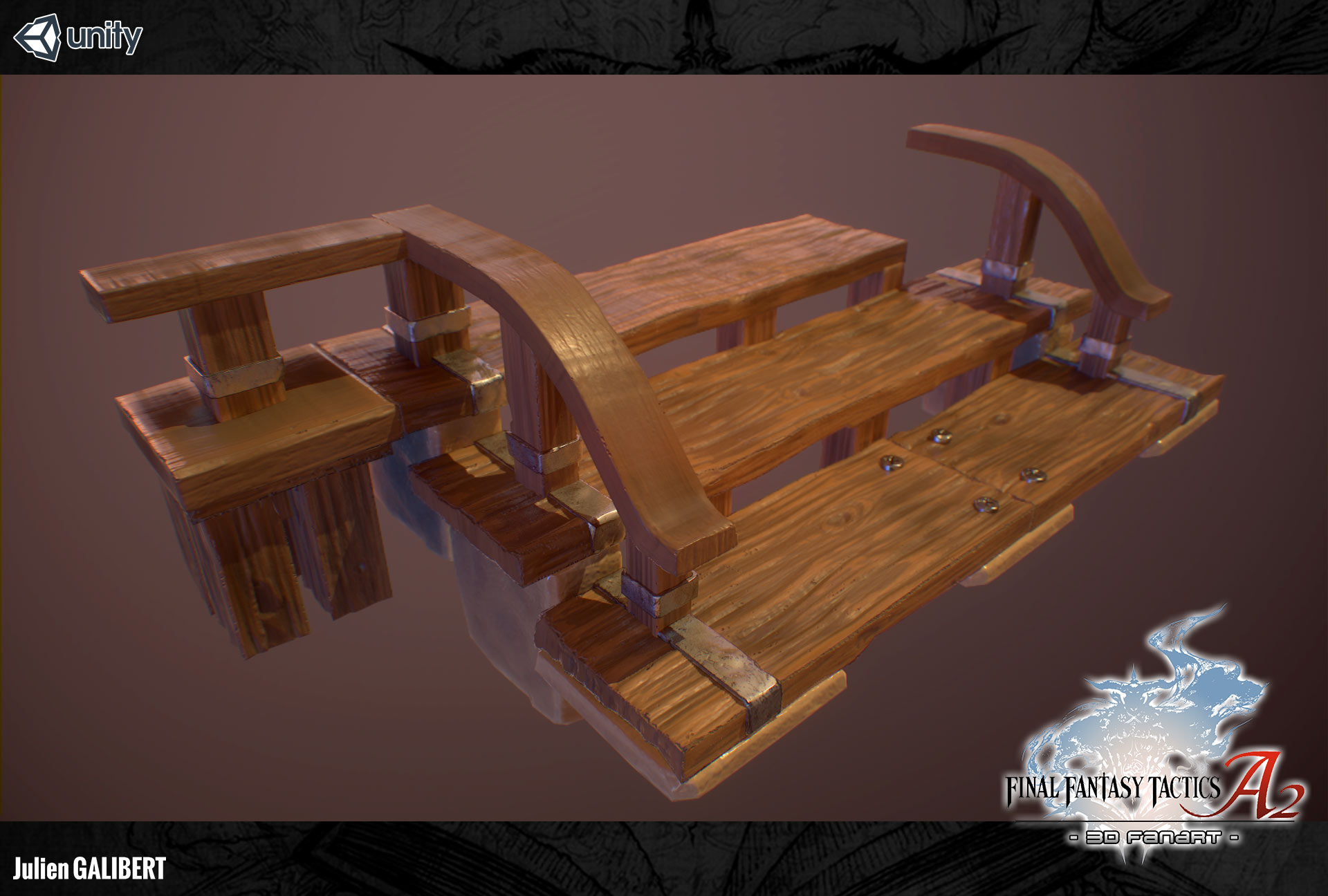 FinalFantasyTacticsAdvance2_3DFanart_Stairs_01