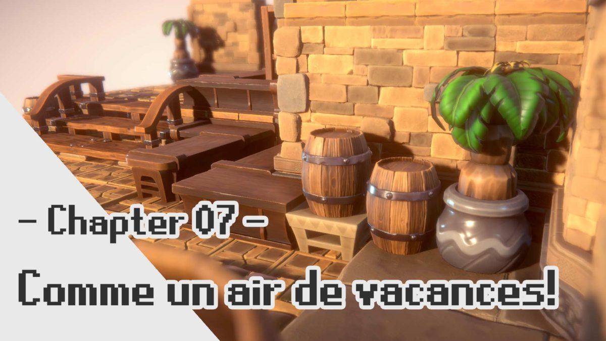 FFTA 2 3D Fanart: Caisses, tonneaux, et plantes!